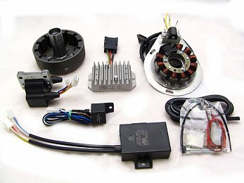 BMW R50/5, R60/5, R75/5 (Complete System); BMW R60/6, R75/6, R90/6 former Version with original 180W; 105mm (Complete System)