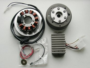 Aermacchi 250, 17mm shaft, Alternator only