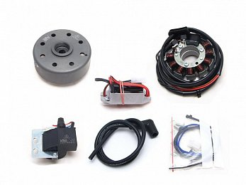 Motor Sachs 100/3 (125ccm) (12V/100W) with rotor nut M10x1